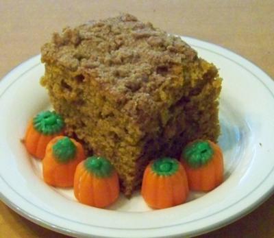 One Slice of Pumpkin Cake